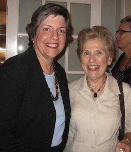 Paula Cullison with AZ Governor Janet Napolitano